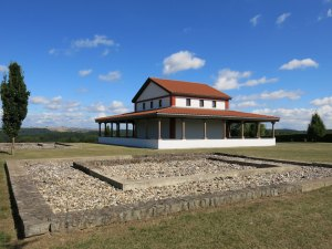 Der Lenus-Mars-Tempel an der Mosel hatte überregionale Bedeutung
