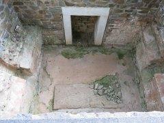 Blick in eine Grabkammer