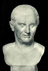 Cicero, selbst ein Augur, verfaßte zahlreiche Schriften über die Auspizien