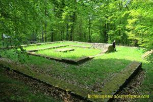 Merkur-Rosmerta-Tempel am Rande des Hunsrück