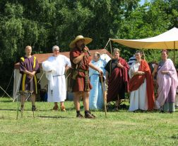 Römische Modenschau